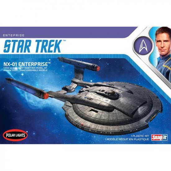 Polar Lights Star Trek NX-01 Enterprise (Snap) 2T