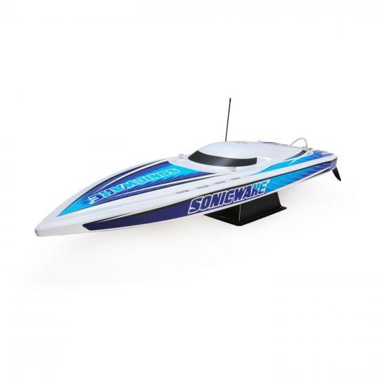 Pro Boat Sonicwake 36 - White/Blue