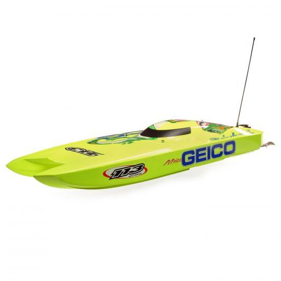 ProBoat Miss Geico Zelos 36 Twin Brushless Catamaran - RTR