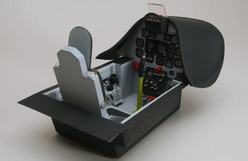 P-51 Scale Cockpit