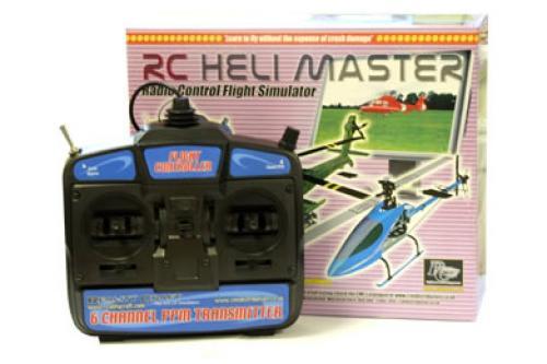 RC Heli Master Helicopter Flight Simulator - Mode 2