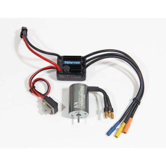 Radient Reaktor Brushless Combo - 30A ESC with 4000kV 2P 2435 Micro Motor