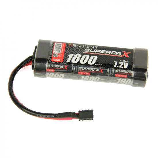 Helion Animus V2 Battery - 7.2V 1600mAh NiMH - Deans Connector