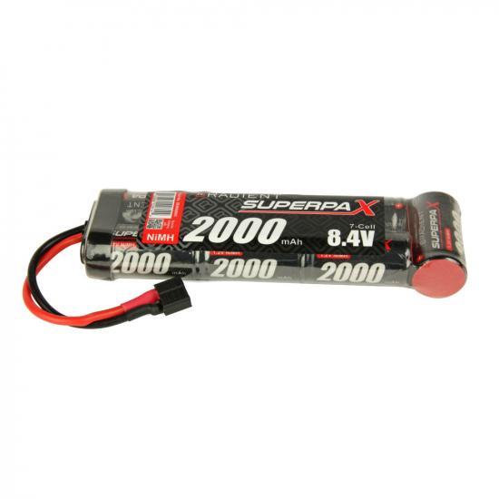 Battery, SC 8.4V 7-Cell 2000mAh NiMH, 6-1 Stick, HCT