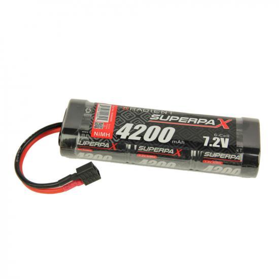 Battery, SC 7.2V 6-Cell 4200mAh NiMH, Stick, HCT