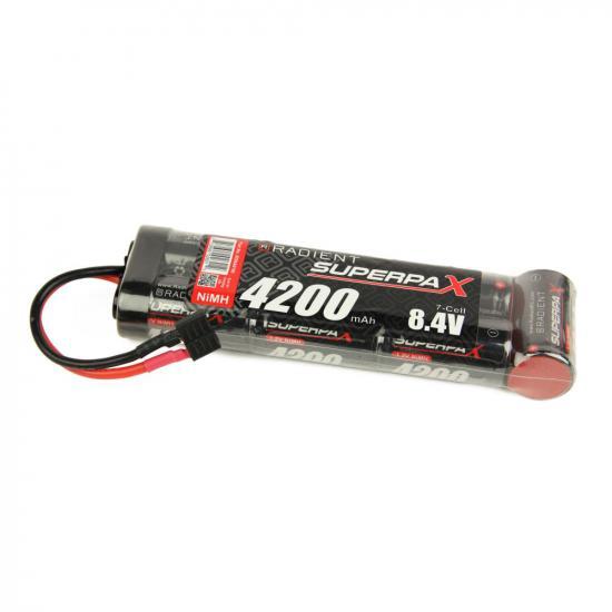Battery, SC 8.4V 7-Cell 4200mAh NiMH, 6-1 Stick, HCT