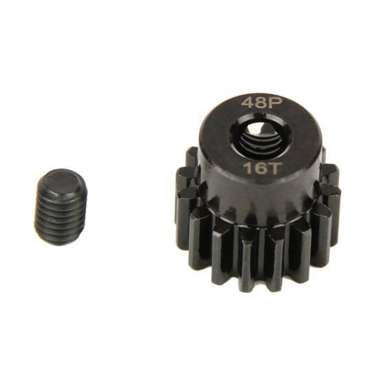 Pinion Gear, 48P, Steel 16T