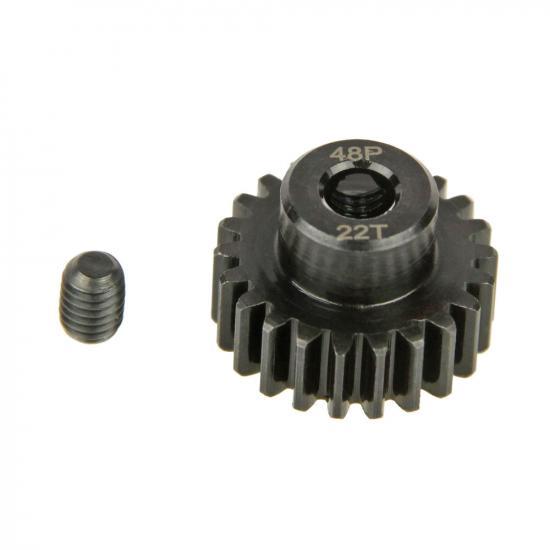Pinion Gear, 48P, Steel 22T ** CLEARANCE **
