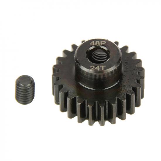 Pinion Gear, 48P, Steel 24T