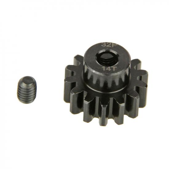 Pinion Gear, 32P, Steel 14T (Replaces HLNA0062)