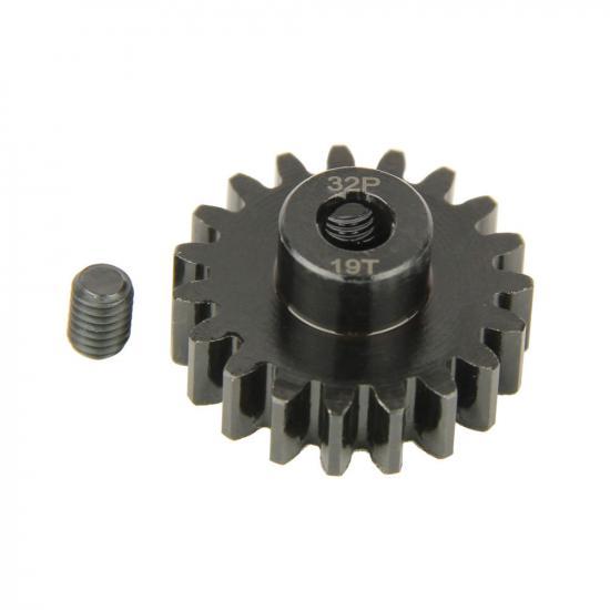 Pinion Gear, 32P, Steel 19T