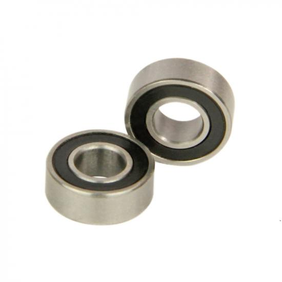 Radient Bearings, 5X11X4mm, Rubber Sealed (2)