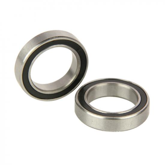 Radient Bearings, 12X18X4mm, Rubber Sealed (2)