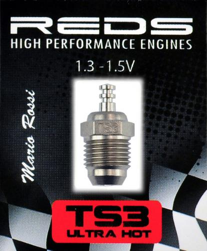 REDS Glow Plug TS3 Ultra Hot Turbo Special Offroad - Japan