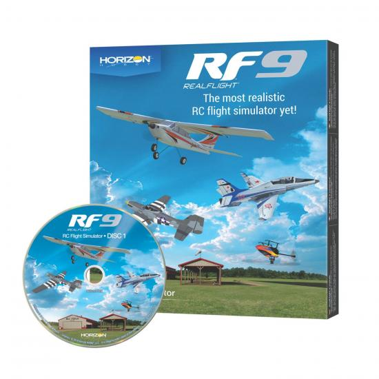 RealFlight RF9 Horizon Hobby Edition - Software Only