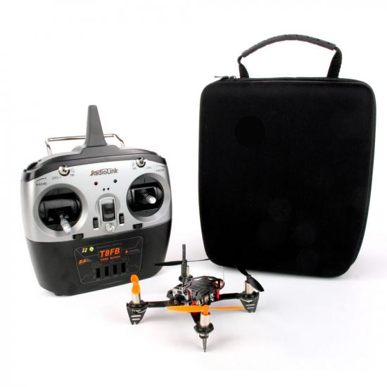 RadioLink F110S Mini Racing Quadcopter Combo Including Camera, VTx and T8FB Transmitter