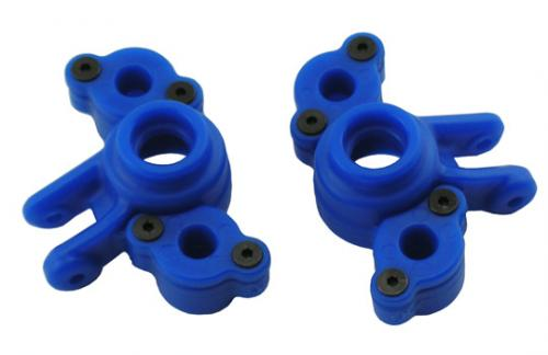 RPM Axle Carriers For Traxxas 1/16th Slash/E-REVO (Replaces TRX-7034) - 1 Pair - Blue