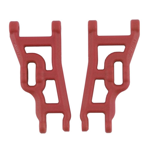 RPM Front Wishbone Arms - Fit Traxxas Slash, Rustler, Stampede (Upgrades - TRX-3631) - Red