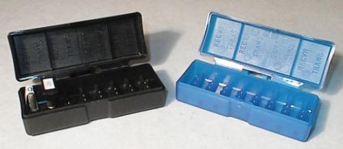RPM Moulded Crystal Case - Blue