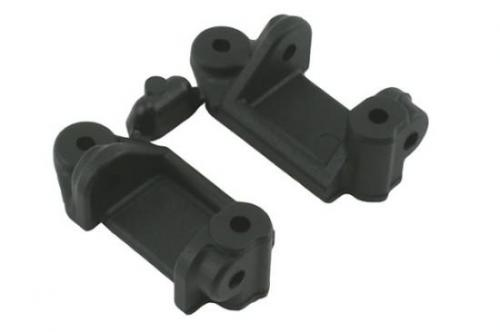 RPM Upgrade Caster Blocks For Traxxas Electric Stampede, Rustler, Slash 2WD And NItro Slash - Black (Replaces TRX-3632)