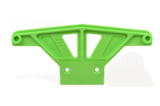 RPM Wide Front Bumper - Traxxas Rustler, Stampede, Sport And Bandit - Green