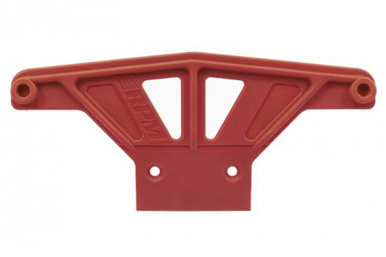 RPM Wide Front Bumper - Traxxas Rustler, Stampede, Sport And Bandit - Red