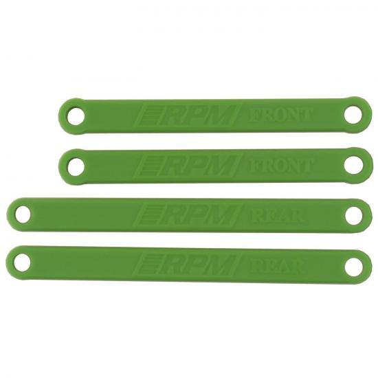 RPM Heavy Duty Camber Links - Rustler/Stampede 2WD - Green