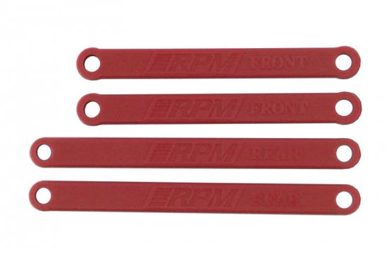 RPM Heavy Duty Camber Links - Rustler/Stampede 2WD - Red