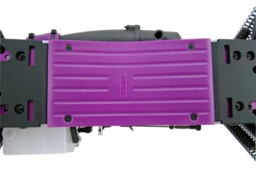 RPM Savage Centre Skid Plate - Purple