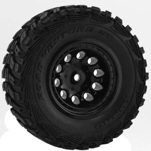 RPM Revolver Black Wheels - Slash 2WD Rear / 4x4 Front or Rear