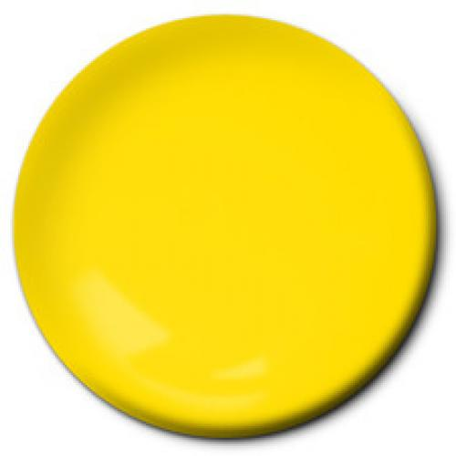 Daytona Yellow Paint For RC Polycarbonate Bodyshells - Airbrush Jar - Bulk Pack Of 6