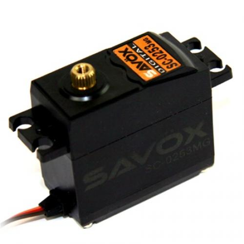 Savox SC0253MG Digital Metal Geared Servo - 6kg - 0.15s