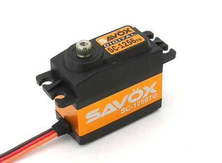 Savox 1256 Servo - 20Kg/cm - 0.15 Sec