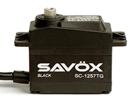 Savox High Torque Coreless Digi Servo 10KG - 0.07s - Black