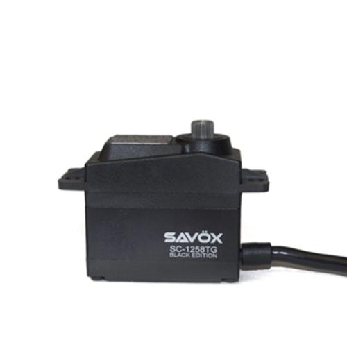 Savox High Torque Coreless Digi Servo 12Kg@6.0V - Black