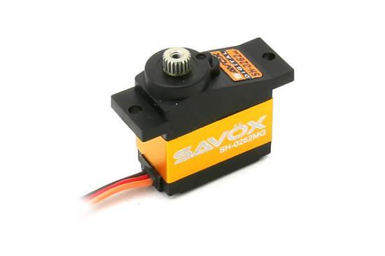 Savox Micro Size Digital Servo 1.2Kg@6V 0.06Sec Heli/Parkfly