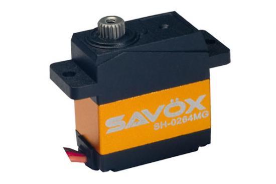 Savox SH0264MG Micro Servo - 1.2Kg/Cm - 0.06 Sec