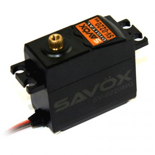 Savox SV0220MG Digital Metal Geared Servo - 8kg - 0.13s