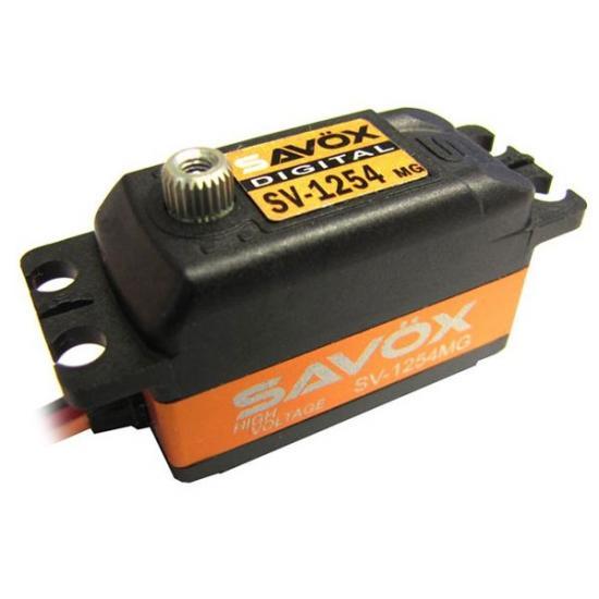Savox SV1254MG HV Low Profile Digital Servo - 15KG / 0.085s