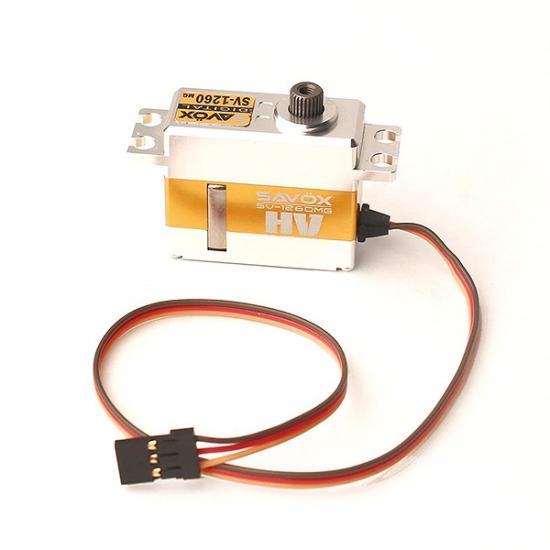 Savox High Voltage Digital Mini Size Servo - 12Kg - 0.055S