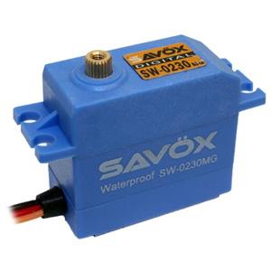 Savox SW0230MG Waterproof HV Digital Servo - 8kg / 0.13s
