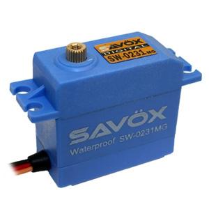 Savox SW0231MG Waterproof Metal Gear Digital Servo - 15kg - 0.17s
