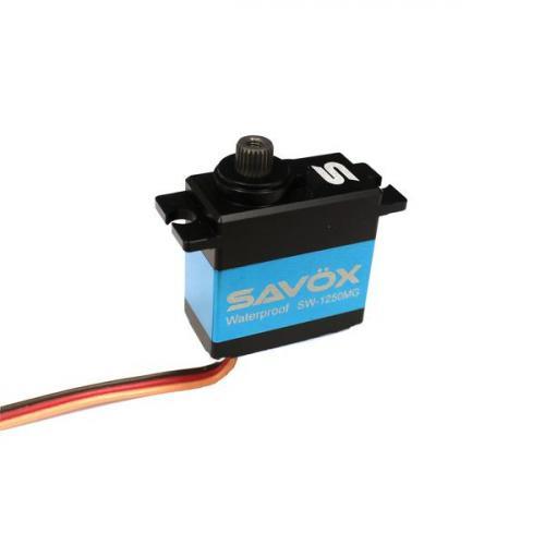 Savox SW0250MG Waterproof Digital Super Torque Micro Servo - 8KG - 0.10s (Upgrade for TRX-2080)