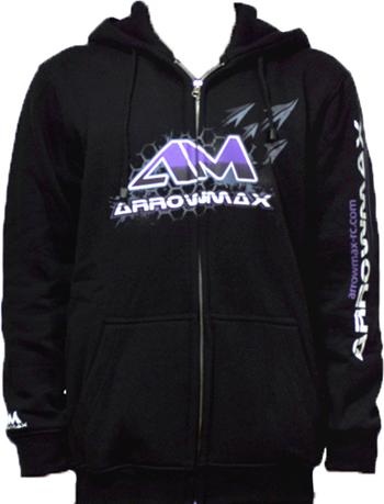 Arrowmax Sweater Hooded - Black (XL)