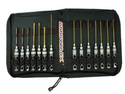 Arrowmax Honeycomb V2 Tool Set - 14 Tools with Tool Bag