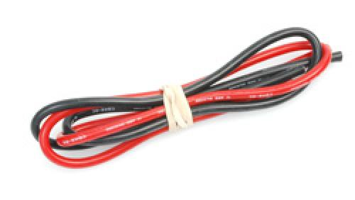 Silicone Wire - 12g - 50cm Red And Black Twin Pack
