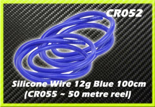 CORE RC Silicone Wire 12g - Blue 1 Metre
