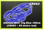 CORE RC Silicone Wire 12g - Blue 1 Metre