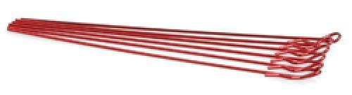 Extra Long Body Clip 1/10 - Metallic Red (6)