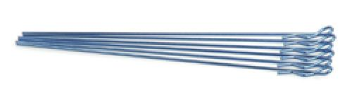 Extra Long Body Clip 1/10 - Metallic Blue (6) ** CLEARANCE **